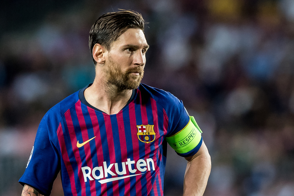 Leo Messi del Barcellona