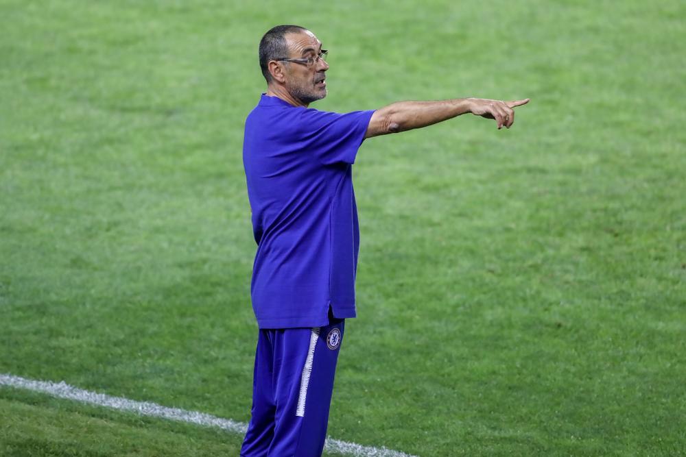 Maurizio Sarri alla Roma