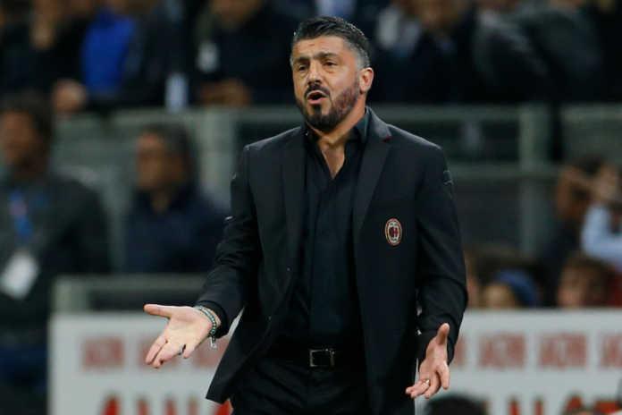 Gattuso, tecnico del Milan: Pirlo ha parlato anche del Milan