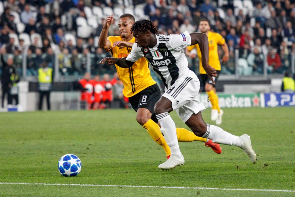 Moise Kean il talento della Juventus che inizia a far gola alle big
