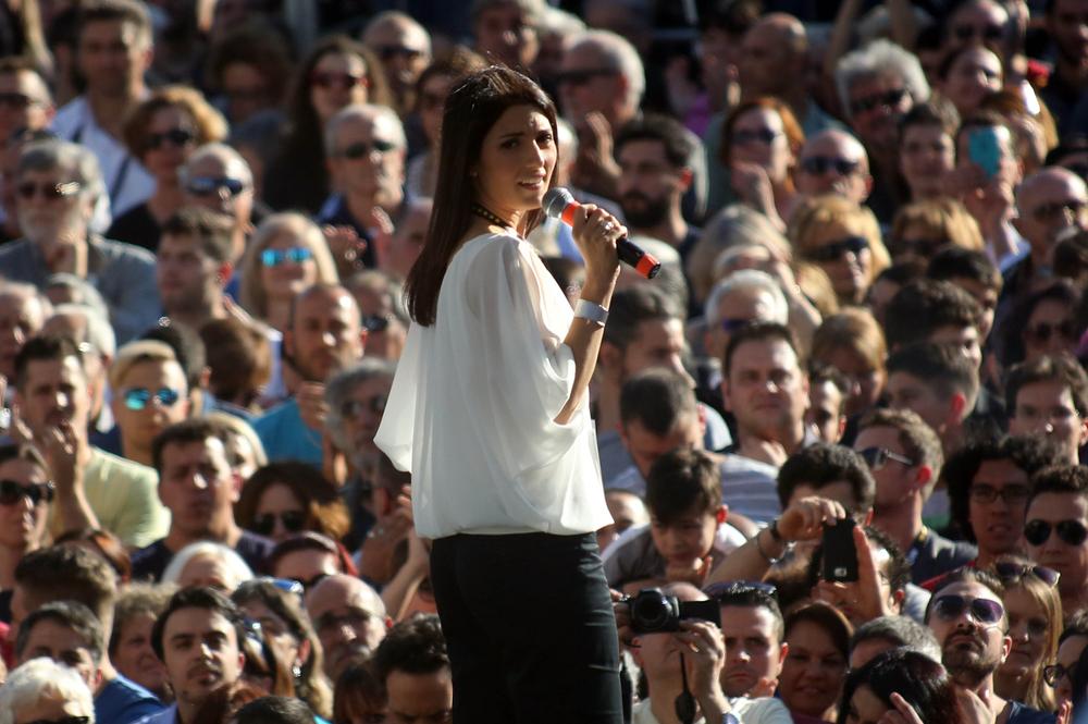 Virginia Raggi interviene ancora una volta sulla spinosa vicenda legata allo Stadio della Roma