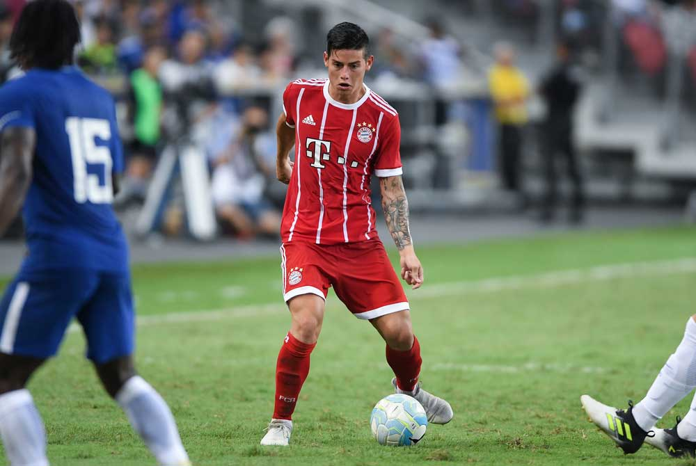 James Rodriguez, Bayer Monaco