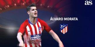 Alvaro Morata, attaccante dell'Atletico Madrid