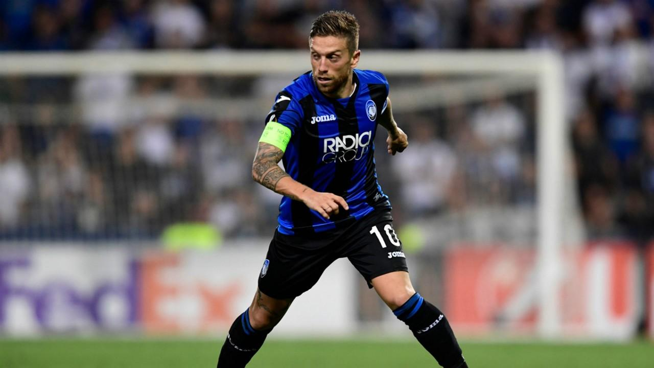 Gomez in goal. Fiorentina-Atalanta