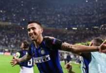 Inter, Vecino timbra il vantaggio contro il Rapid