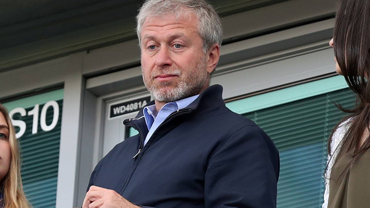 Roman Abramovic, presidente del Chelsea