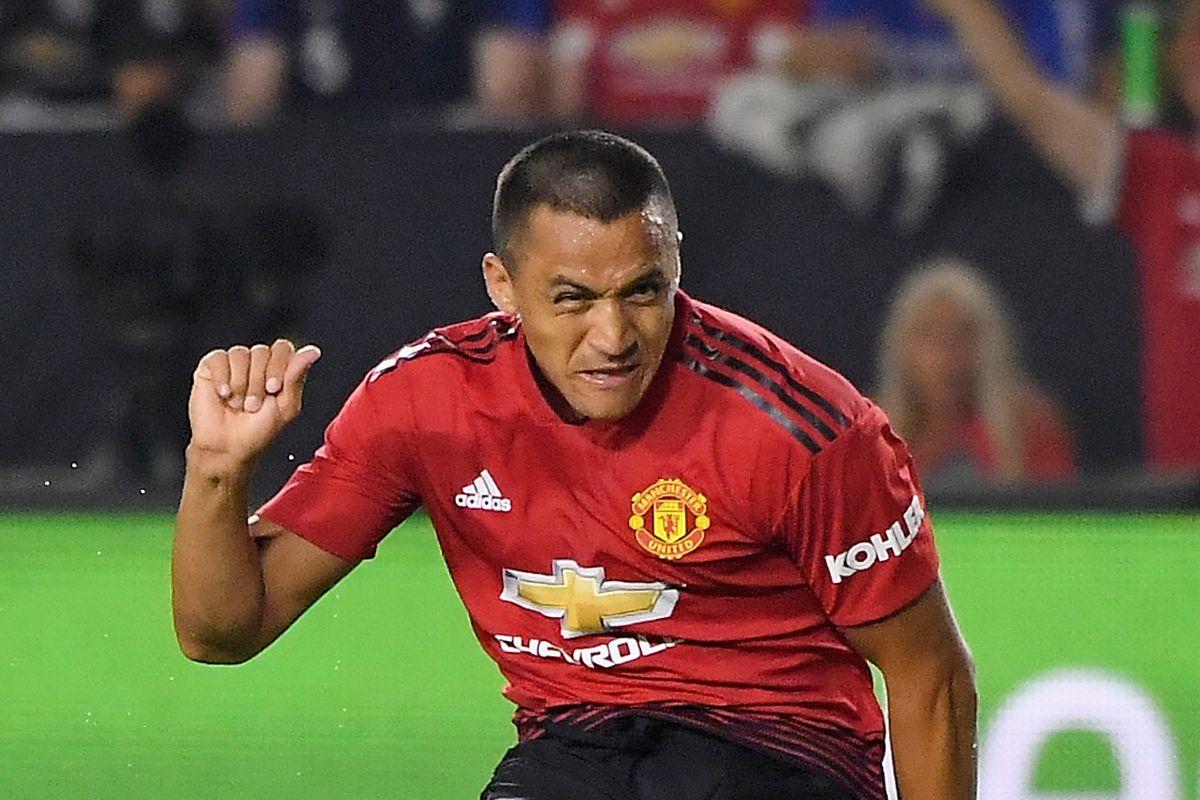 Alexis Sanchez, attaccante cileno del Manchester United