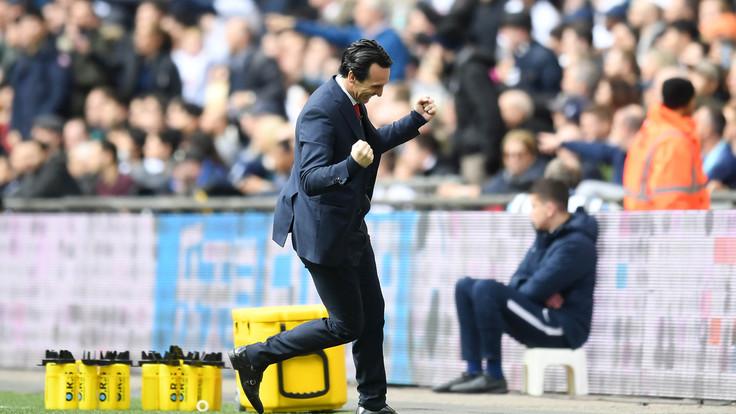 Emery  il tecnico dell'Arsenal