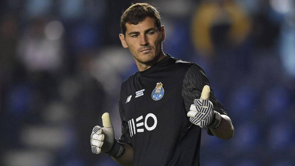 Port, infarto Casillas