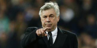 Carlo Ancelotti e la fiducia del presidente De Laurentiis anche per il futuro