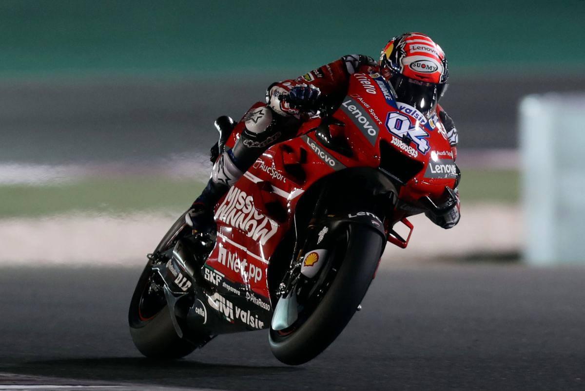 Motomondiale, Andrea Dovizioso vince in Qatar