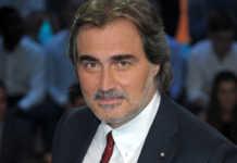 "Milano, Trasmissione TV ""Pressing"" - Pierluigi Pardo"