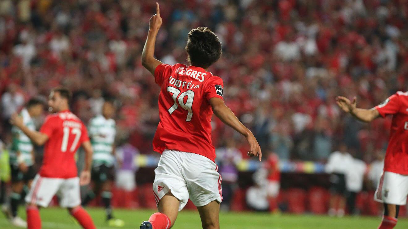 Joao Felix del Benfica