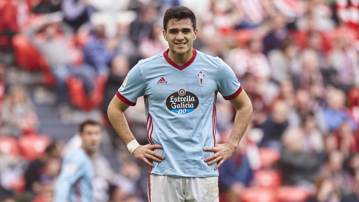 Maxi Gomez del Celta Vigo