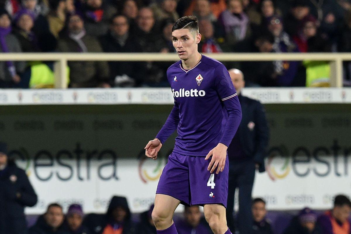Milenkovic della Fiorentina