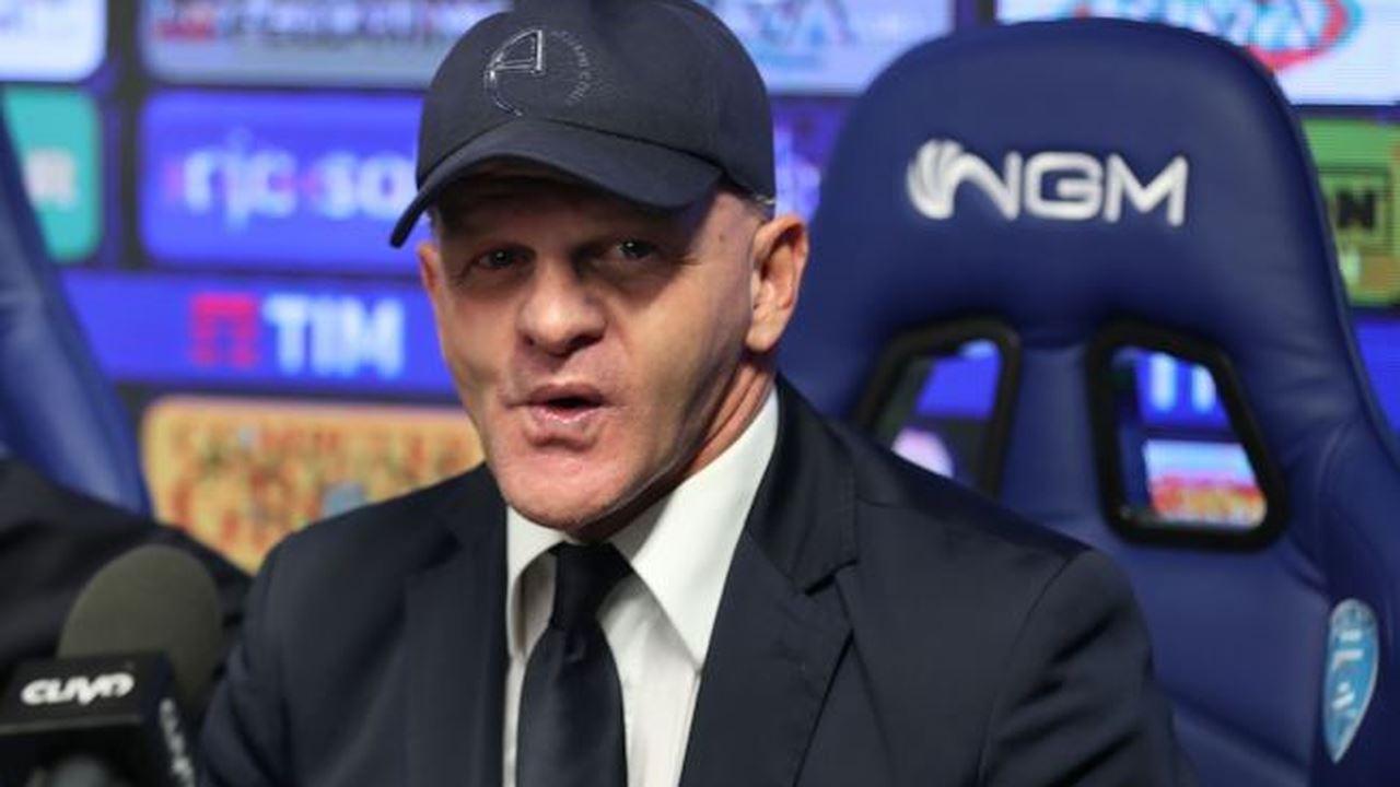 Iachini, allenatore della Fiorentina