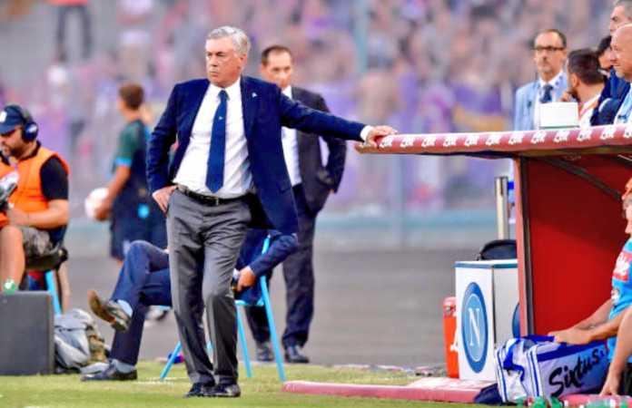 Napoli: Ancelotti furioso dopo il ko di Empoli