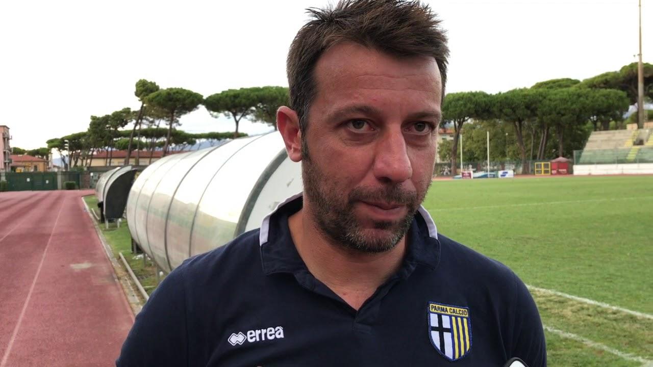 Lazio-Parma, D'Aversa ai microfoni di Sky Sport
