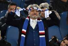 Ferrero, presidente della Sampdoria non nasconde l'amore per i colori giallorossi