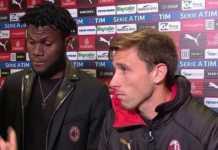 Franck Kessie e Lucas Biglia, protagonisti durante il derby della lite che ha fatto imbestialire la dirigenza rossonera