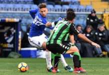 Serie A-Sassuolo-Sampdoria