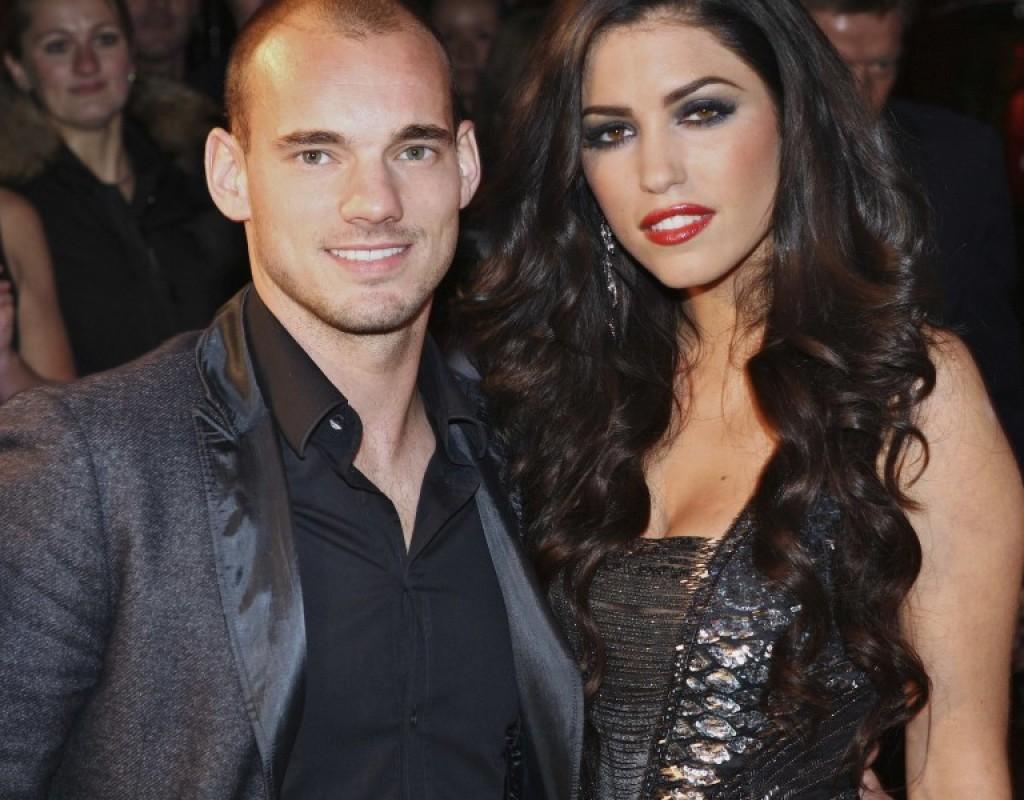 Sneijder e Yolante