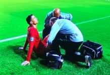 Cristiano Ronaldo, infortunio con il Portogallo