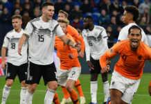Olanda-Germania diretta rete 4