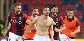 Mattia Destro, infortunio dopo il gol al Sassuolo