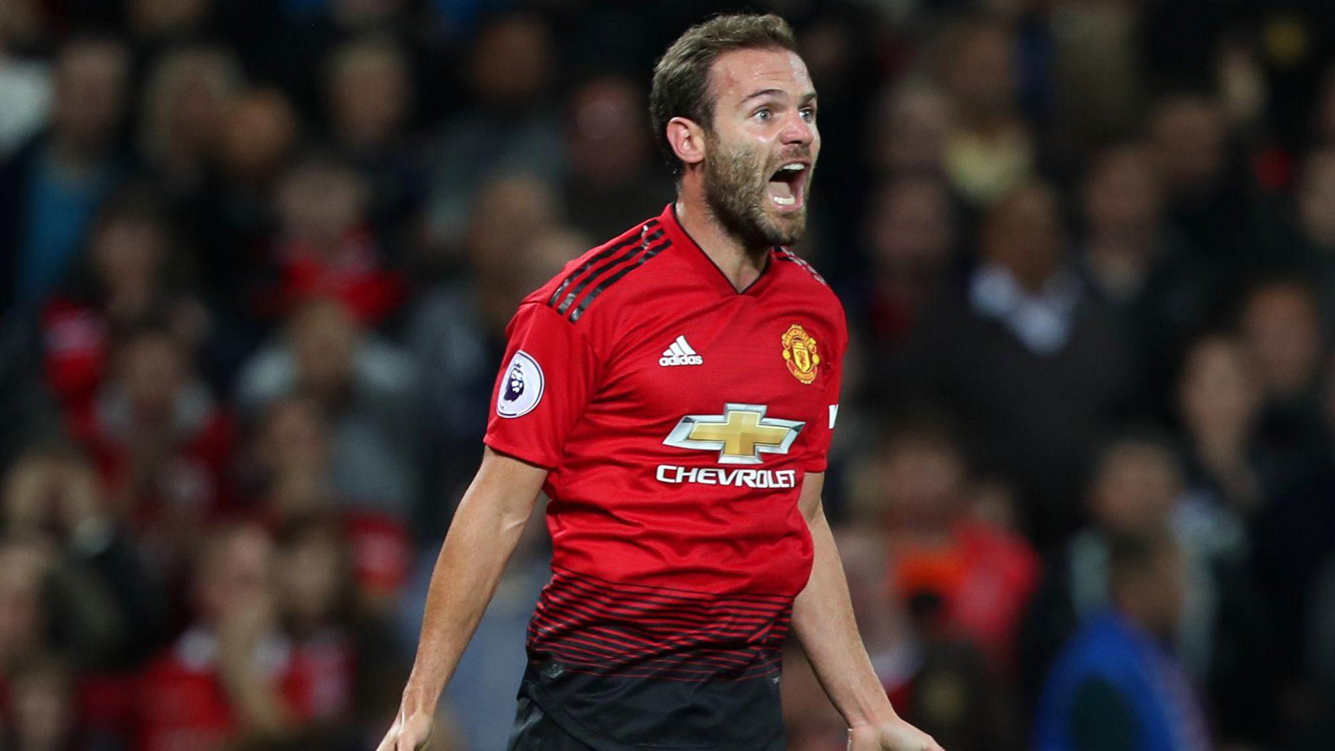 Juan Mata, attaccante del Manchester United