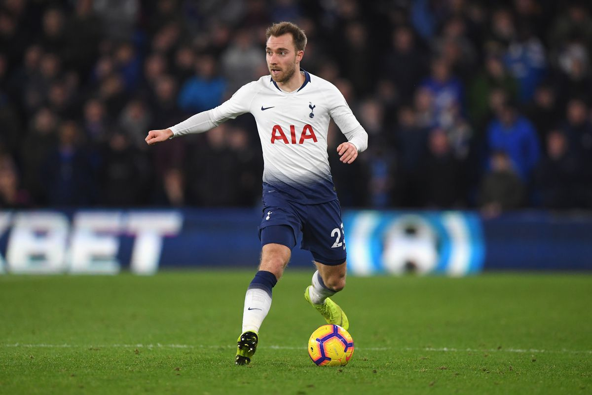 Christian Eriksen del Tottenham