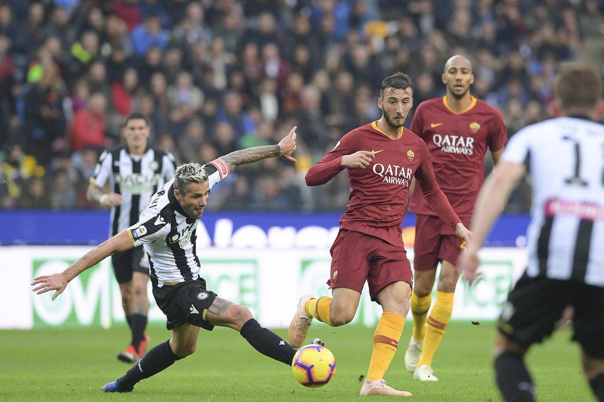 Roma-Udinese streaming gratis e diretta tv