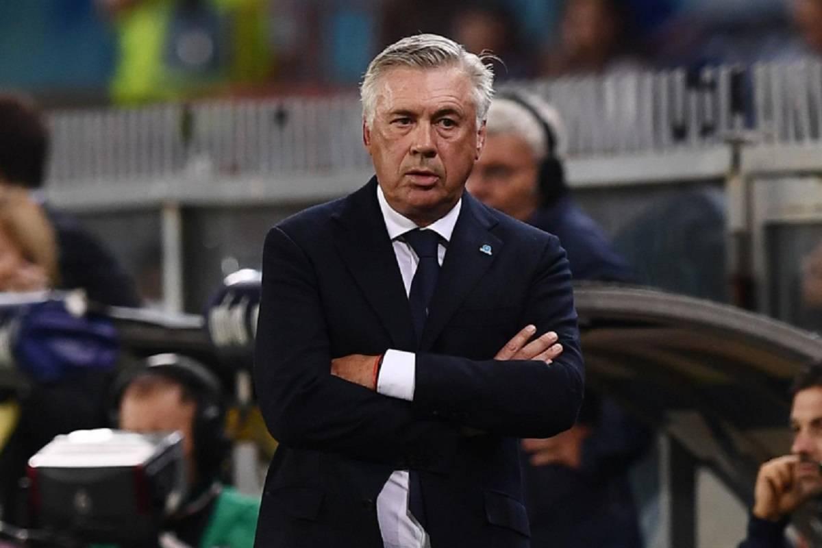 Napoli, Carlo Ancelotti prepara la gara contro l'Arsenal