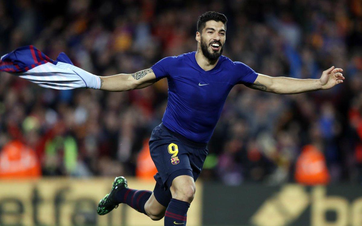 Luis Suarez attaccante del Barcellona