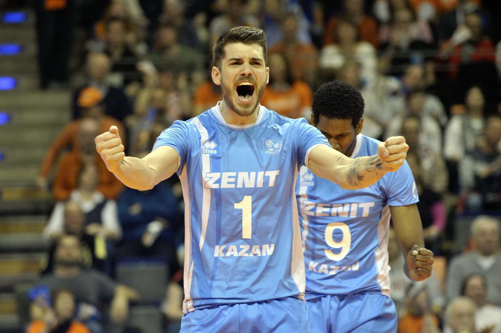 Volley, Rubin Kazan