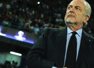 Napoli-Arsenal le parole di De Laurentiis a poche ore dalla sfida