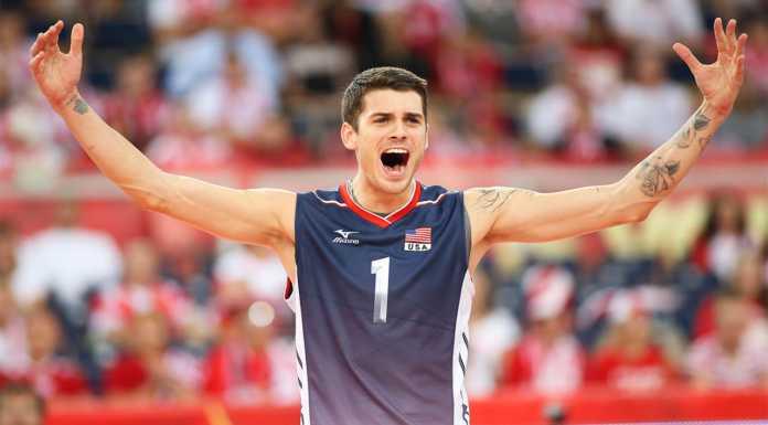 Volley, Matt Anderson