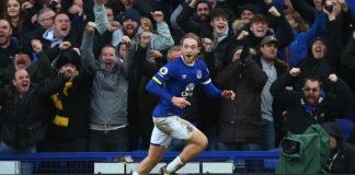 Everton-Manchester United 4-0, vittoria per i padroni di casa