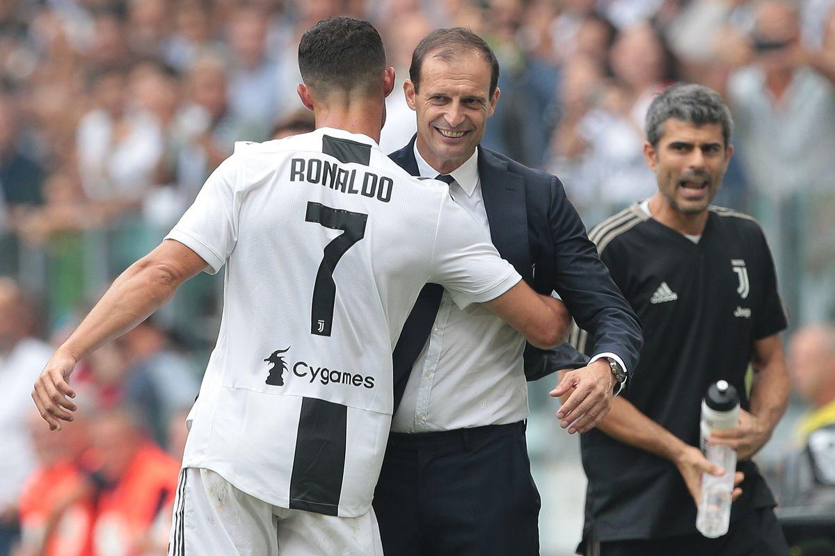Ronaldo e Allegri