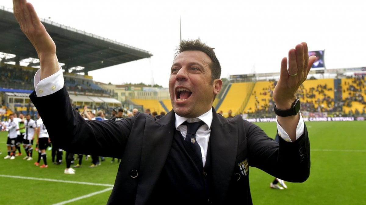 Roberto D'Aversa, Parma