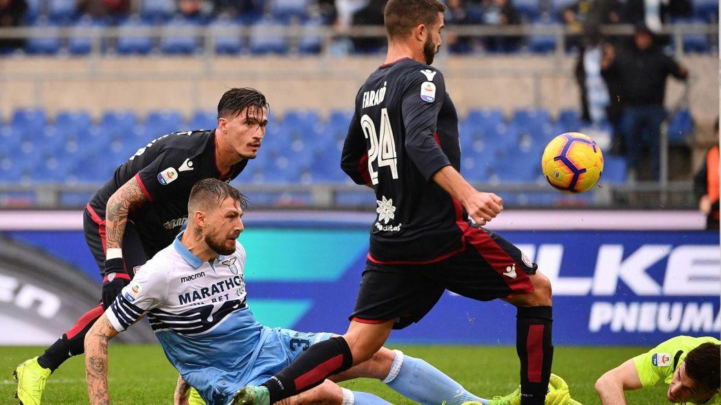 Cagliari-Lazio, Serie A