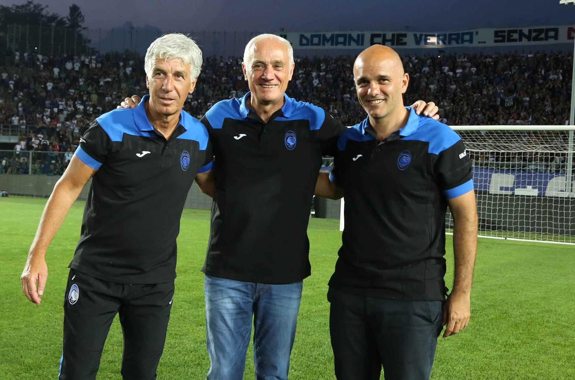 Antonio Percassi e Gan Piero Gasperini