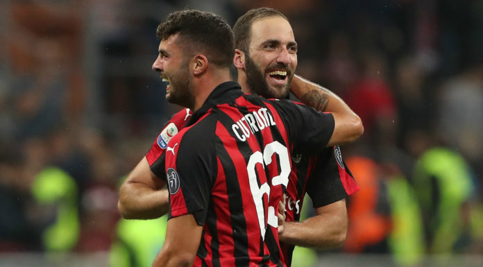 Cutrone, attaccante del Milan