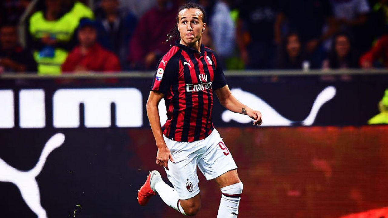 Diego Laxalt del Milan