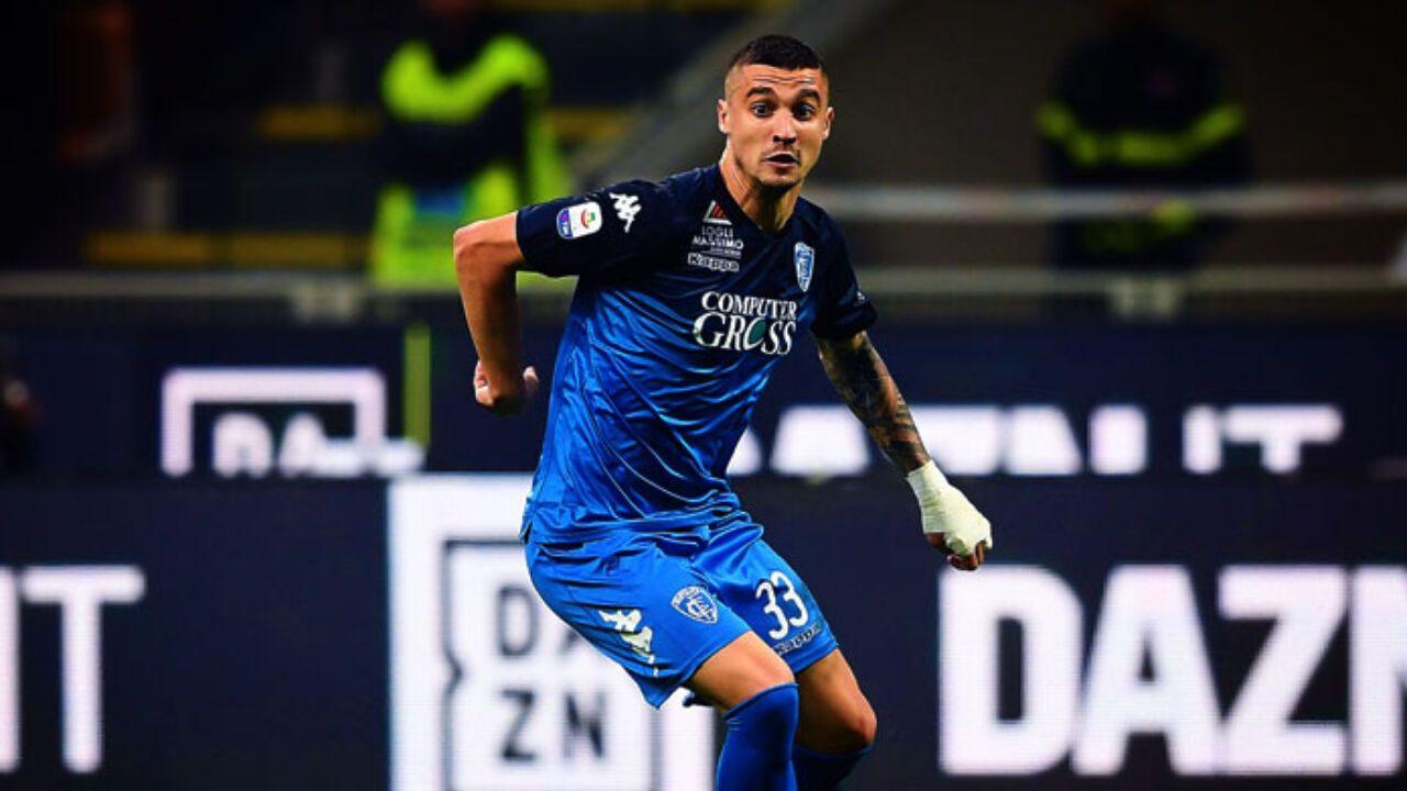 Rade Krunic, centrocampista dell'Empoli