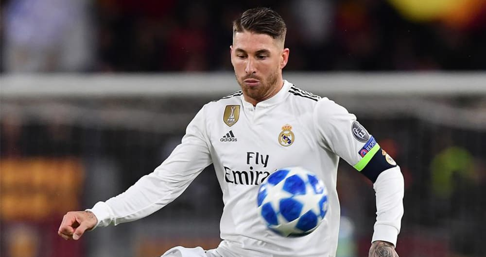 Sergio Ramos, difensore del Real Madrid