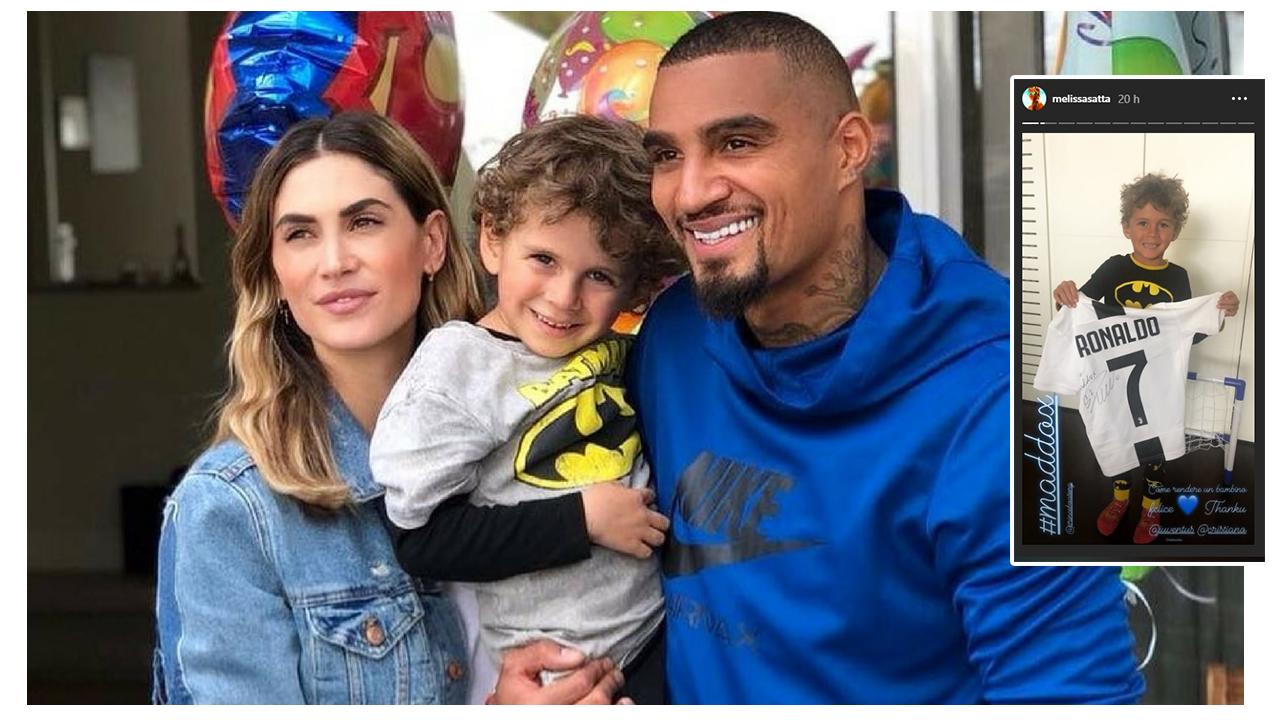 Maddox Boateng, il regalo di CR7