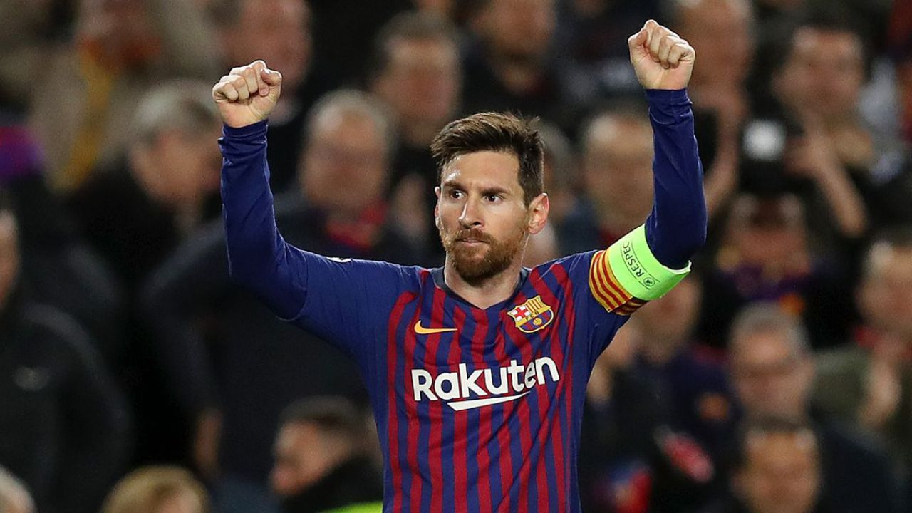 Leo Messi, attaccante del Barcellona
