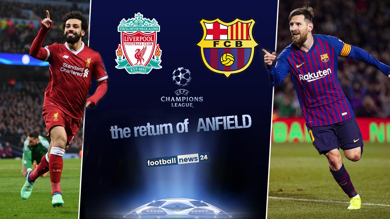 Liverpool-Barcellona streaming gratis e diretta tvLiverpool-Barcellona streaming gratis e diretta tv