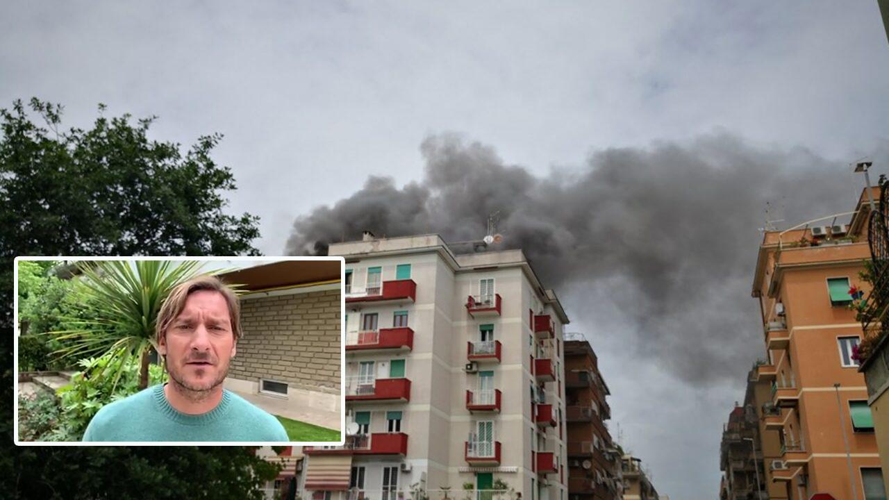 Incendio Centocelle, Roma